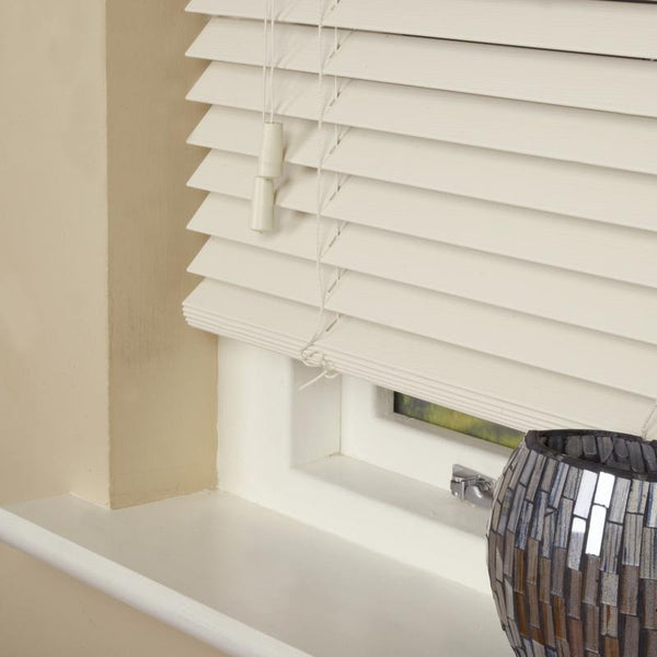 35mm Wood Essence Venetian Blind Fine Grain Mirage Parchment