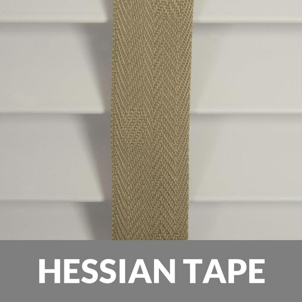 35mm Essence Fauxwood Venetian Blind With 25mm Herringbone Tapes True White