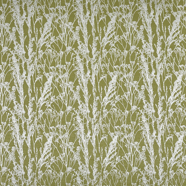 Kiku Curtain Fabric Eucalyptus