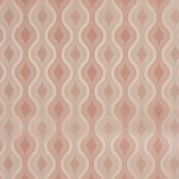 Deco Curtain Fabric Blush
