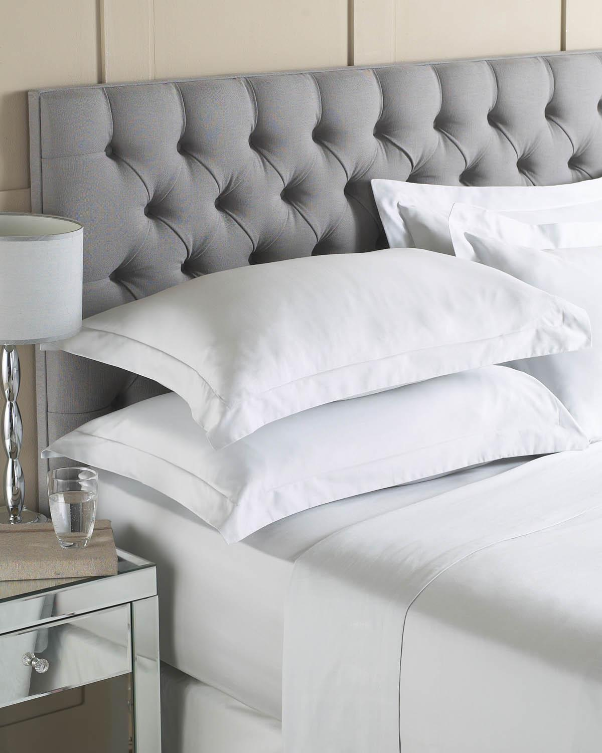 Riva Bedding Luxury Egyptian Cotton Flat Sheet Silver Picture
