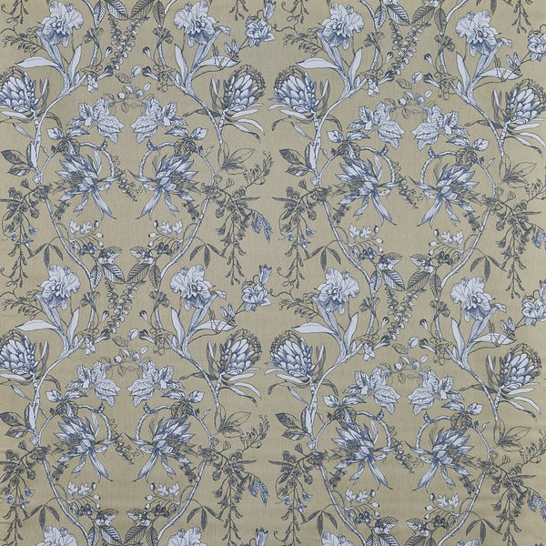 Linley Curtain Fabric Chambray