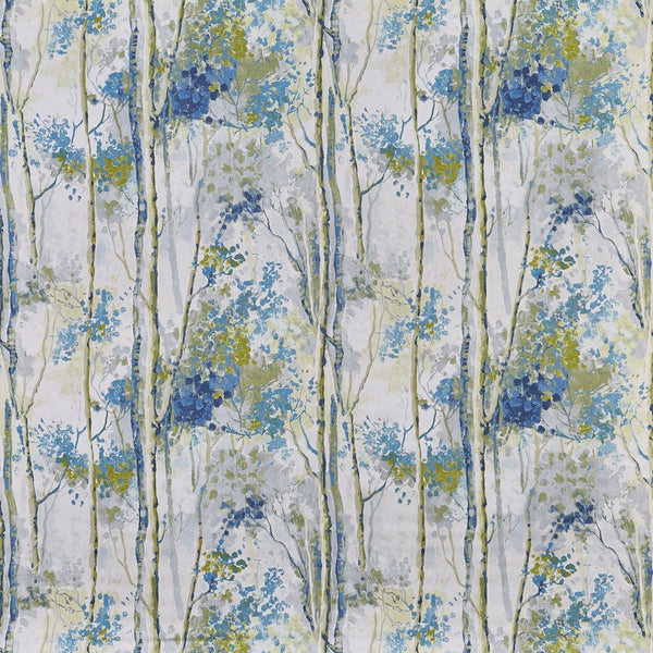 Silver Birch Curtain Fabric Larkspur
