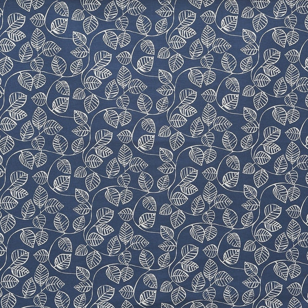 Caracas Curtain Fabric Indigo