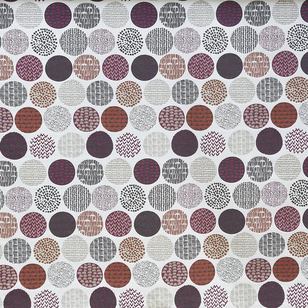 Casa Curtain Fabric Very Berry