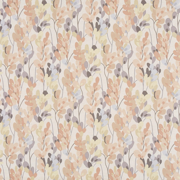 Twirl Curtain Fabric Pastel Pink