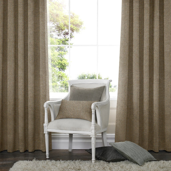 Franca Made to Measure Curtains Coffee