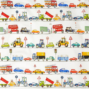 On The Road Curtain Fabric Paintbox
