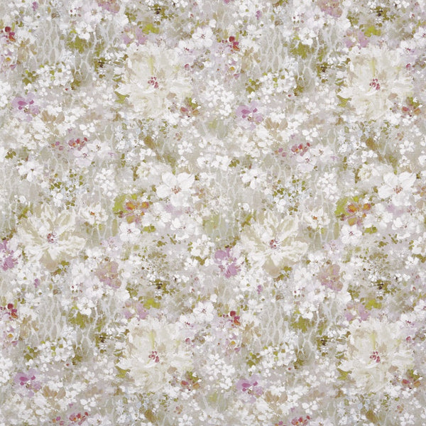 Giverny Curtain Fabric Springtime