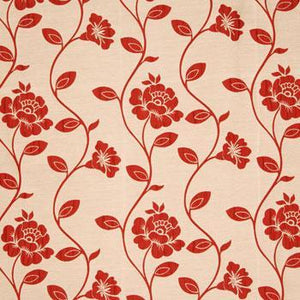 Aisha Curtain Fabric Poppy