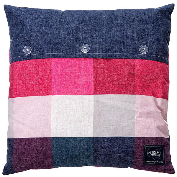 Anderson Filled Square Cushion Cherry Multi