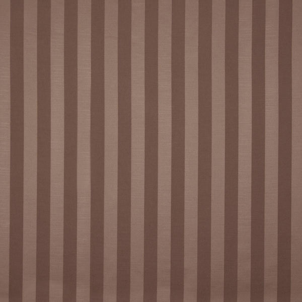 Ascot Stripe Curtain Fabric Bronze
