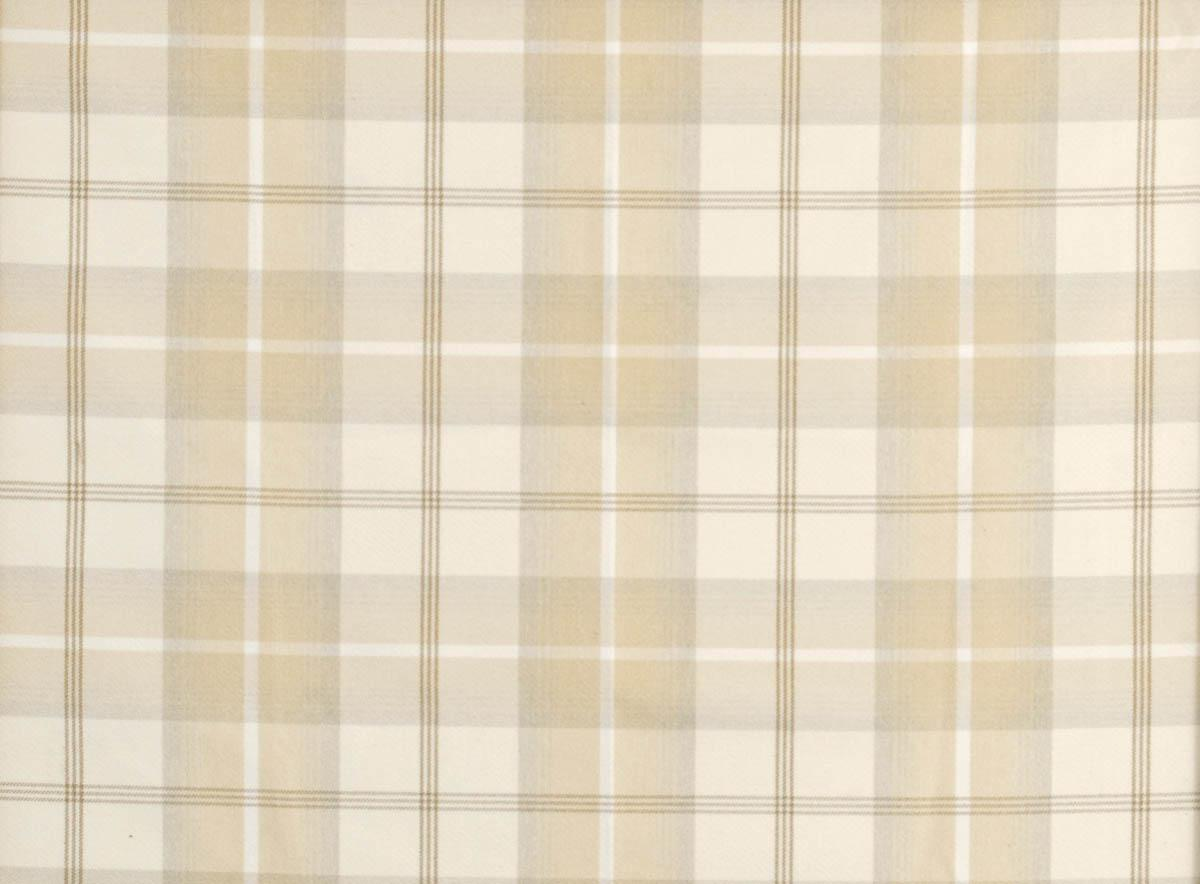 Balmoral Curtain Fabric Natural