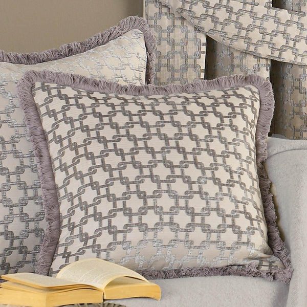 Belmont Filled Cushion Silver