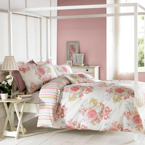 Janet Reger Bloom Bedding Set Sherbet