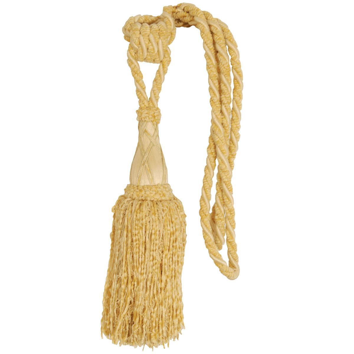 Chenille Rope Tie Back Gold