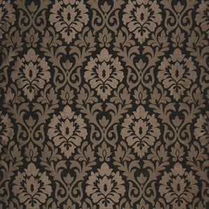 Coba Curtain Fabric Ebony