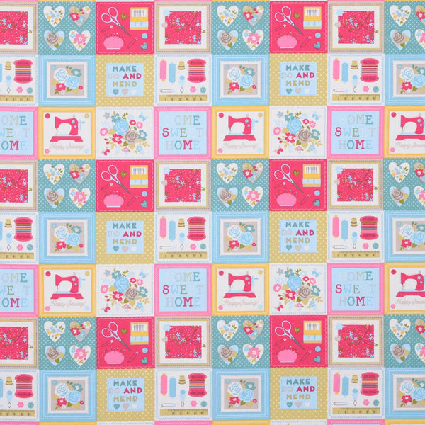 Craftwork Curtain Fabric Multi
