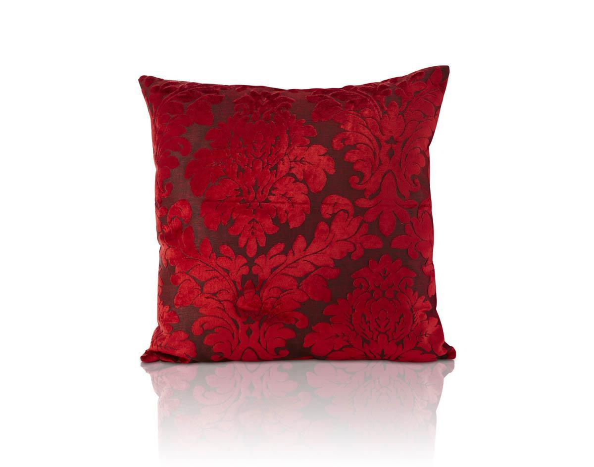 Downton Filled Cushion Red