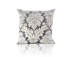 Downton Filled Cushion Silver
