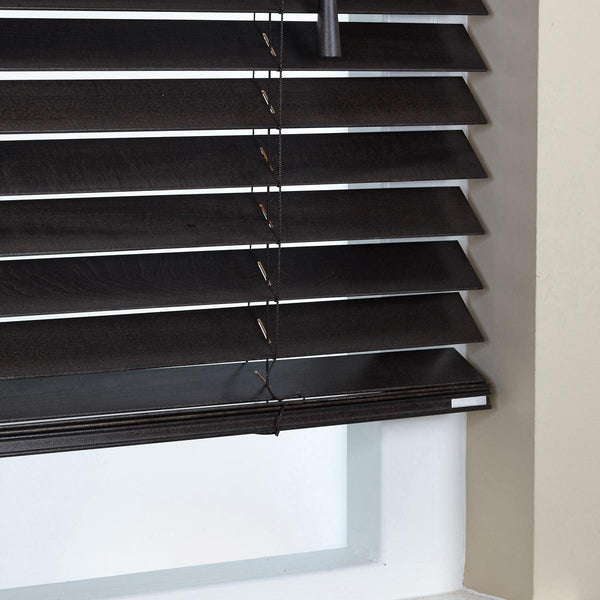 50mm Elementi Wood Venetian Blind Hazel