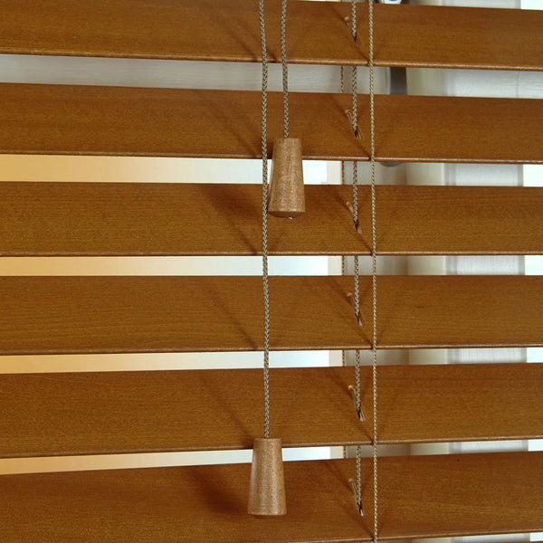 50mm Elementi Wood Venetian Blind Honey