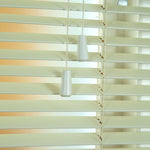 25mm Elementi Wood Venetian Blind Ivory