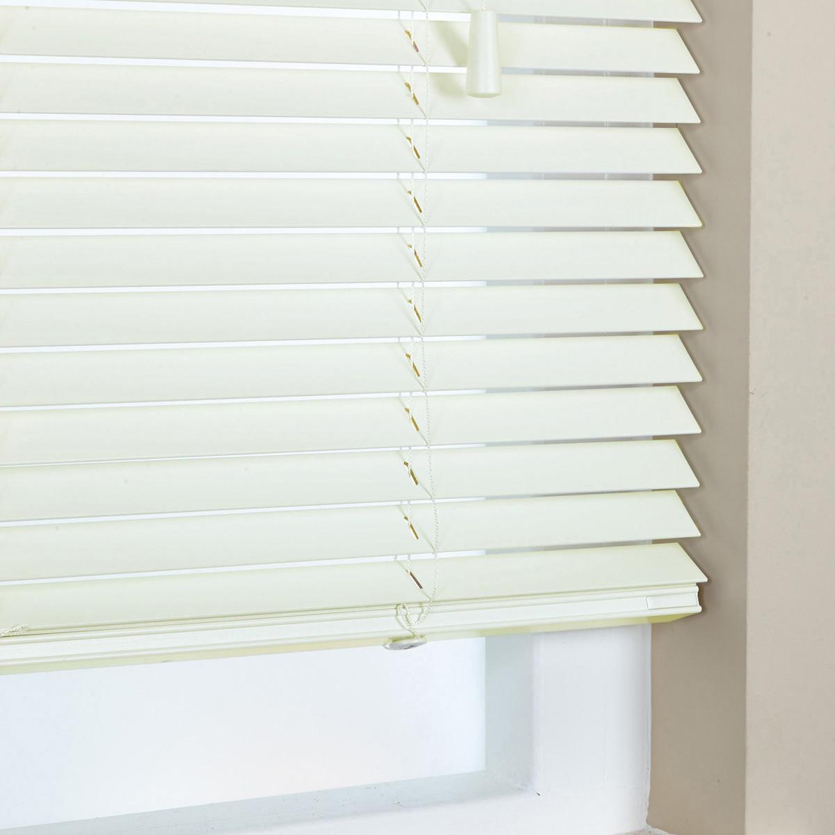 Decora Elementi 35mm Elementi Wood Venetian Blind Polar Picture