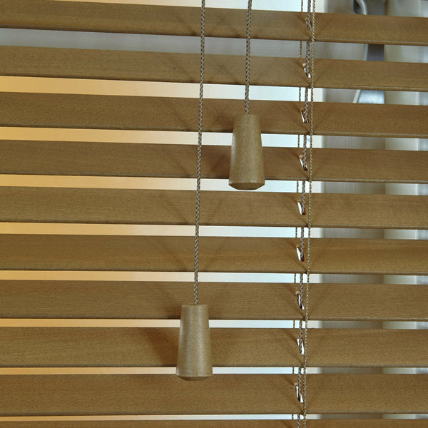 25mm Elementi Wood Venetian Blind Tawny