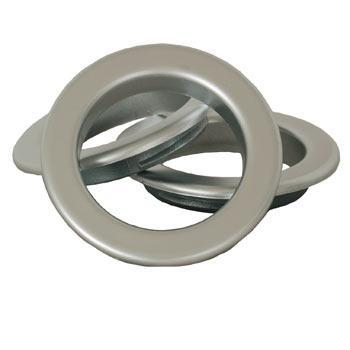 TEMP Eyelet Rings Matt Chrome/Silver Picture
