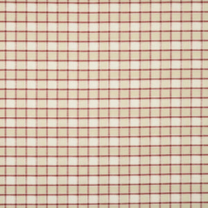 Fairford Curtain Fabric Cranberry