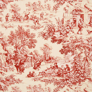 Festin Curtain Fabric Bordeaux 534