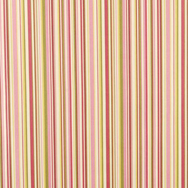 Goa Stripe Curtain Fabric Fuschia