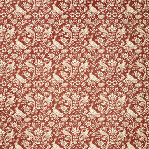 Heathland Curtain Fabric Copper