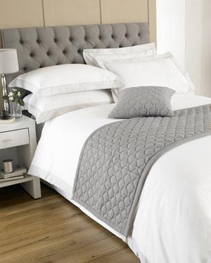Loire Bedding Accessories Grey