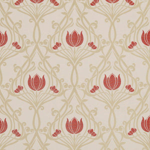 Lalique Curtain Fabric Ruby