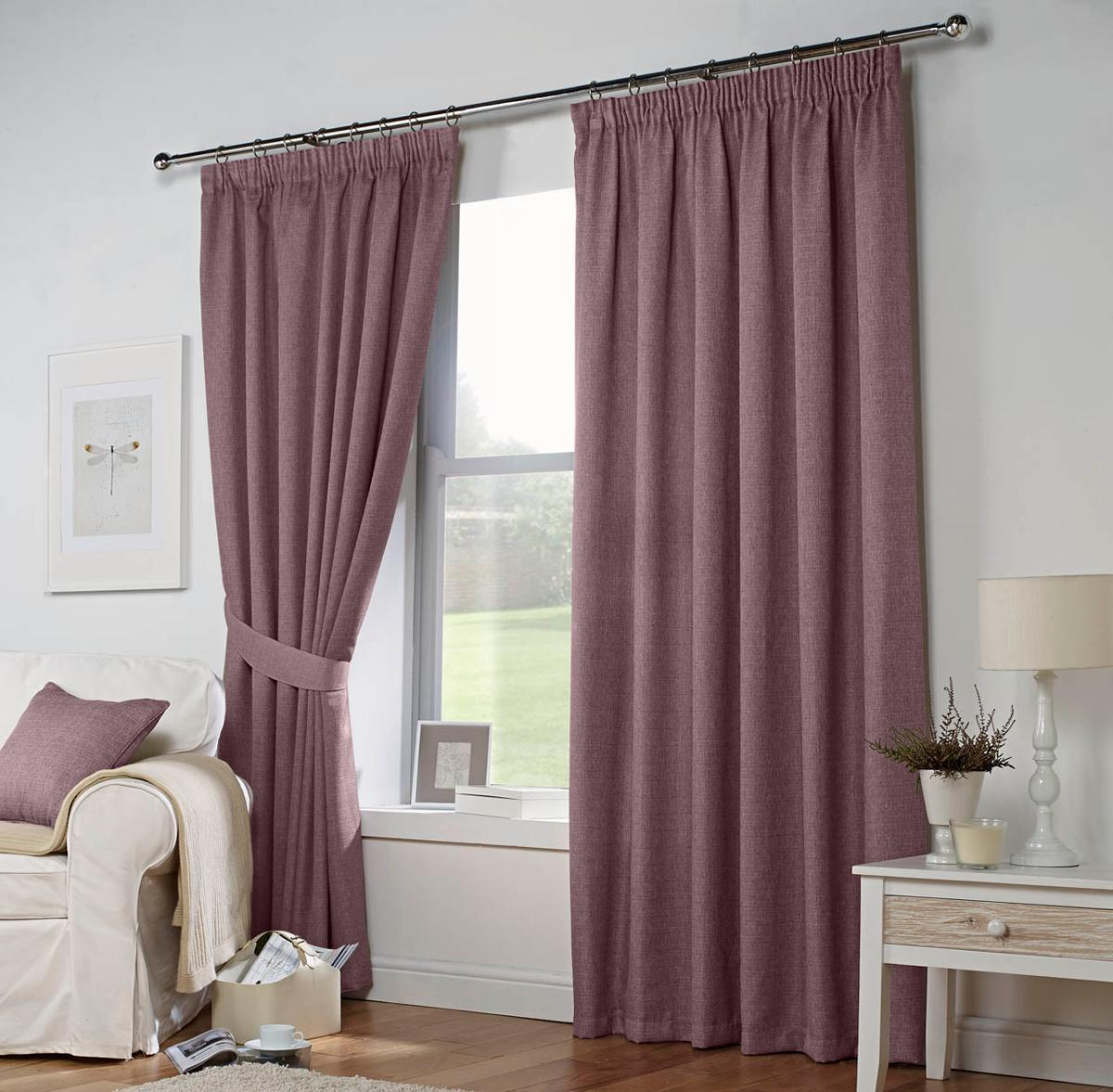 J Rosenthal Ready Made Curtains Leighton Ready Made Lined Curtains Heather Picture