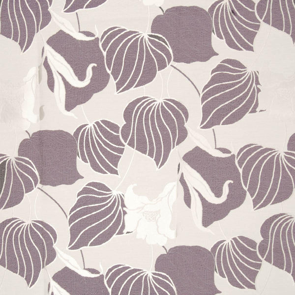 Lily Damask Curtain Fabric Heather