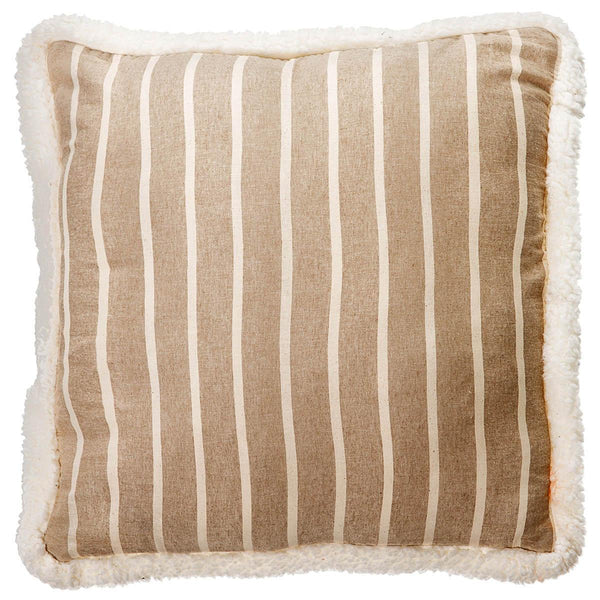 Mason Filled Square Cushion Sand