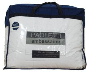 Ambassador Mattress Topper White