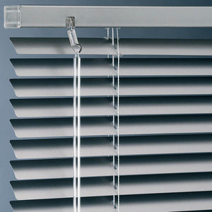 Metal Blinds - Long Drop Silver