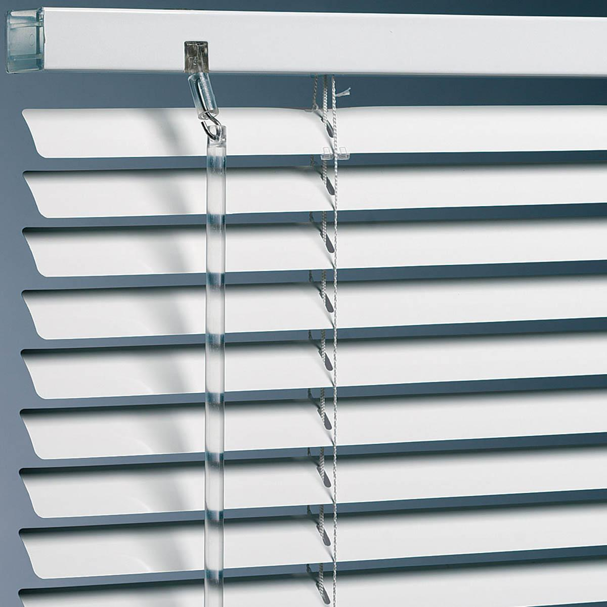 Boxstar Blinds Metal Blinds Standard Drop White Picture