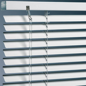 Metal Blinds Standard Drop White
