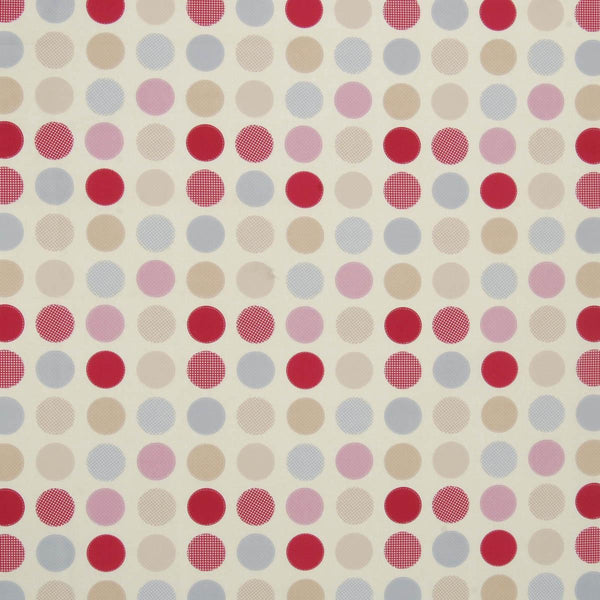 Metro Curtain Fabric Pink