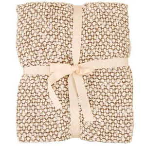 Milly Woven Boucle Throw Natural