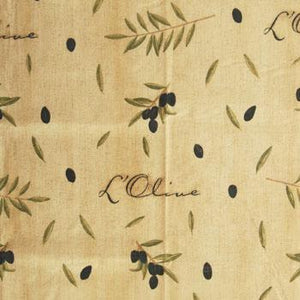 Olivio PVC  Fabric Antique