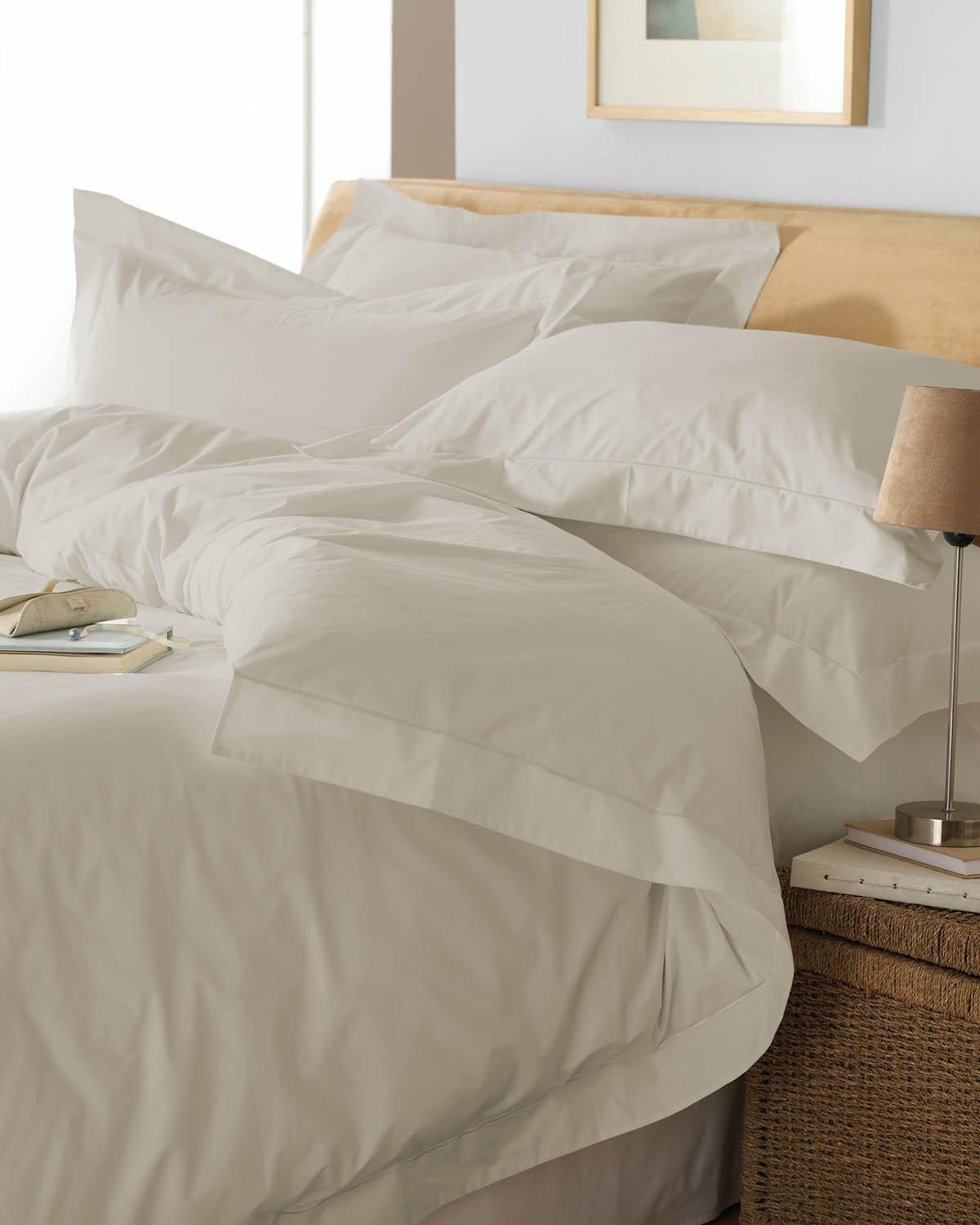 Riva Bedding Oxford Duvet Set Taupe Picture