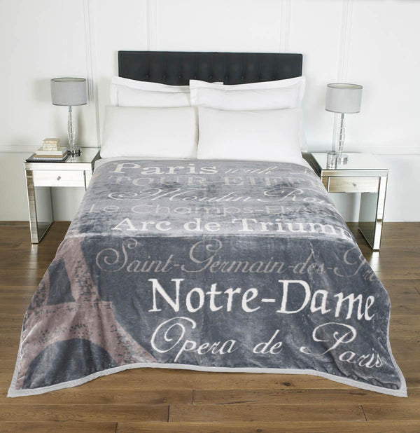Paris Luxury Blanket Multi
