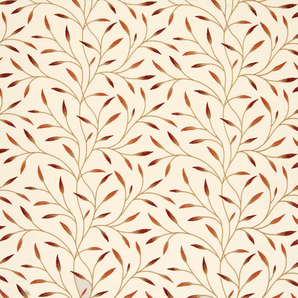 Pietra Floral Curtain Fabric Autumn