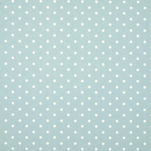 Polka Dot Large Curtain Fabric Blue